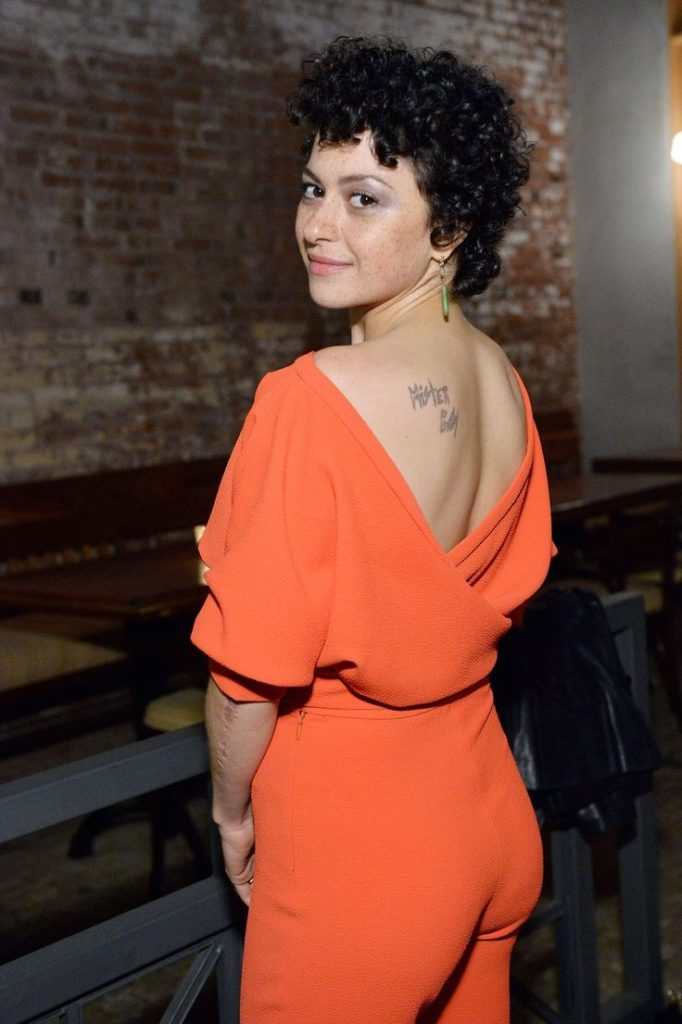 Alia Shawkat Backless Pictures