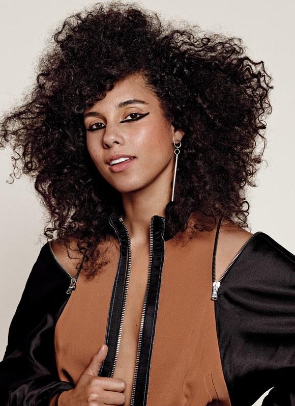 Alicia Keys New Haircut Pics