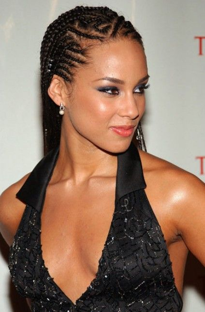 Alicia Keys Workout Images