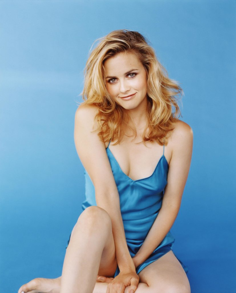 Alicia Silverstone Undergarments Wallpapers