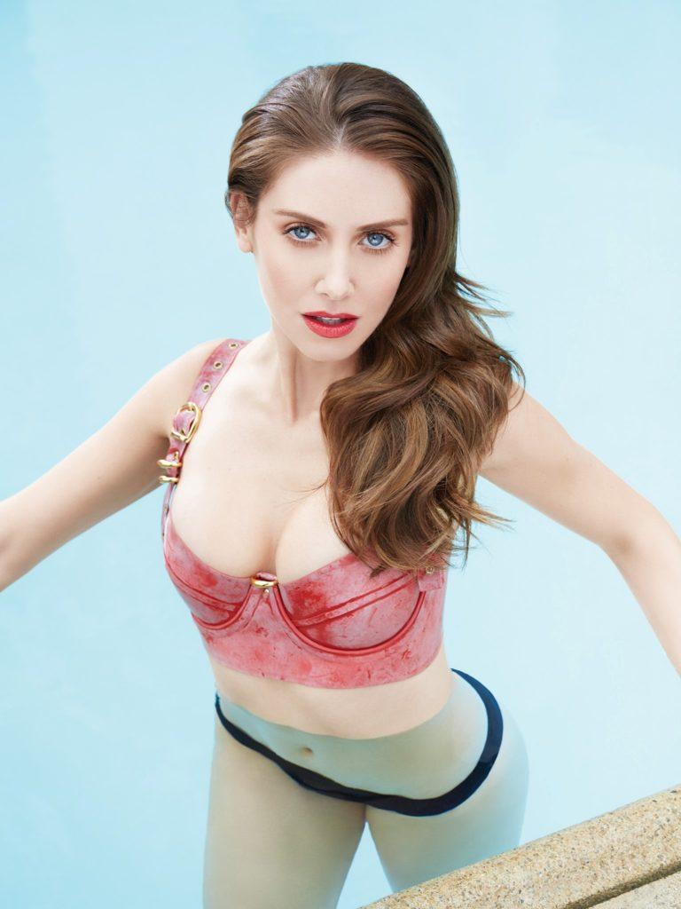 Alison Brie Bikini Wallpapers