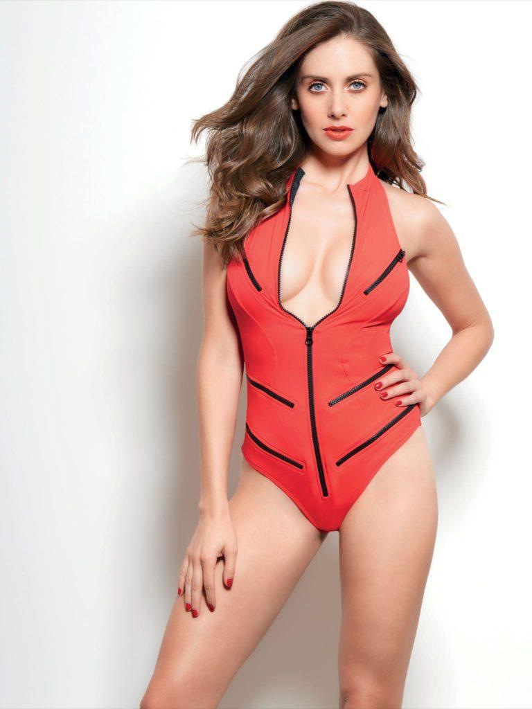 Alison Brie Swimsuit Photos
