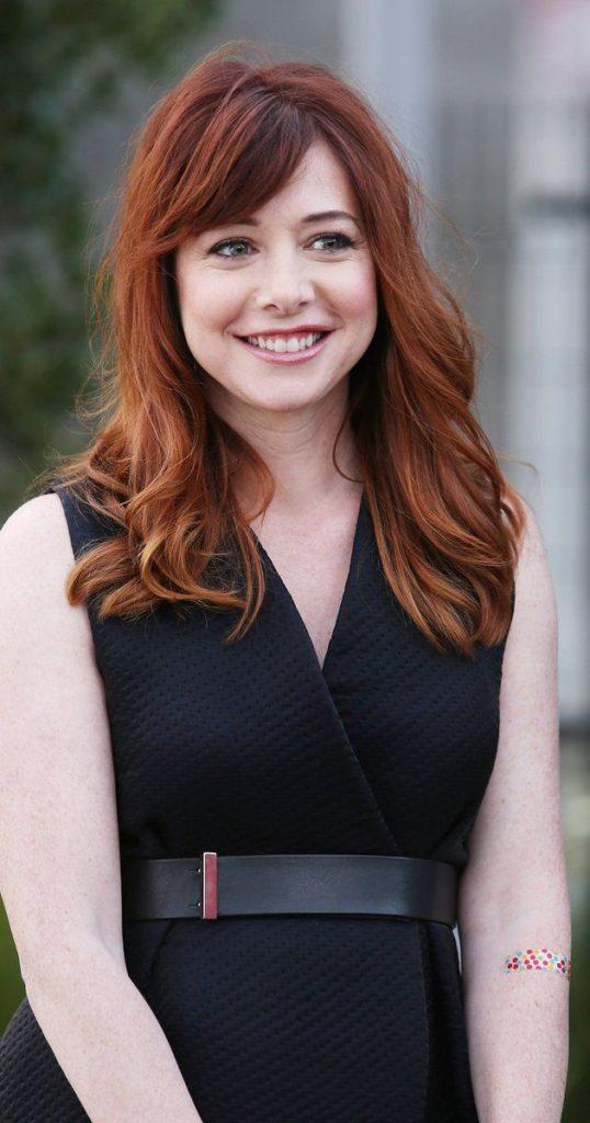 Alyson Hannigan Hair Style Photos