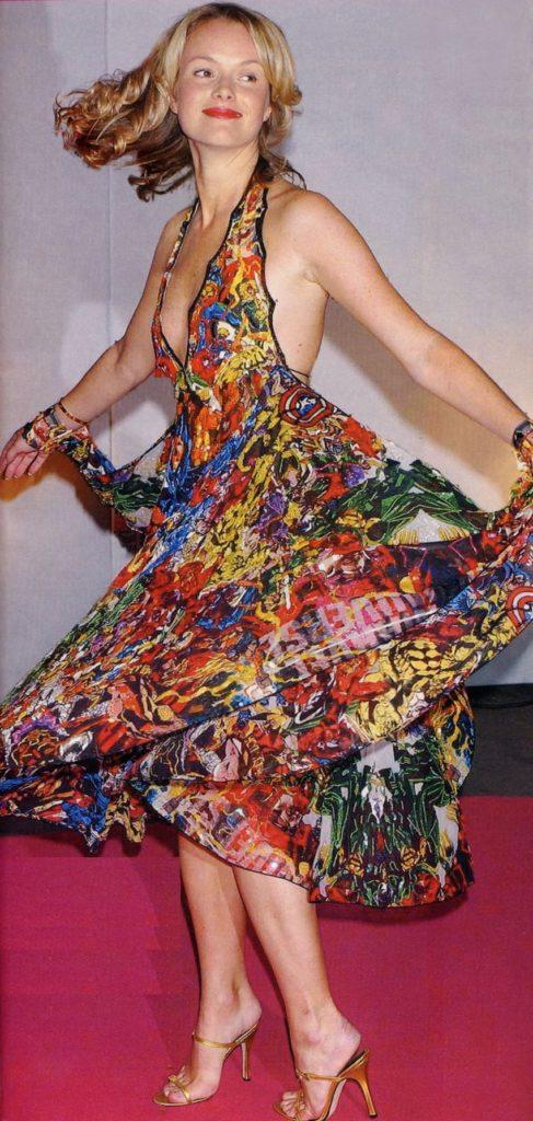 Amanda Holden Dance Images