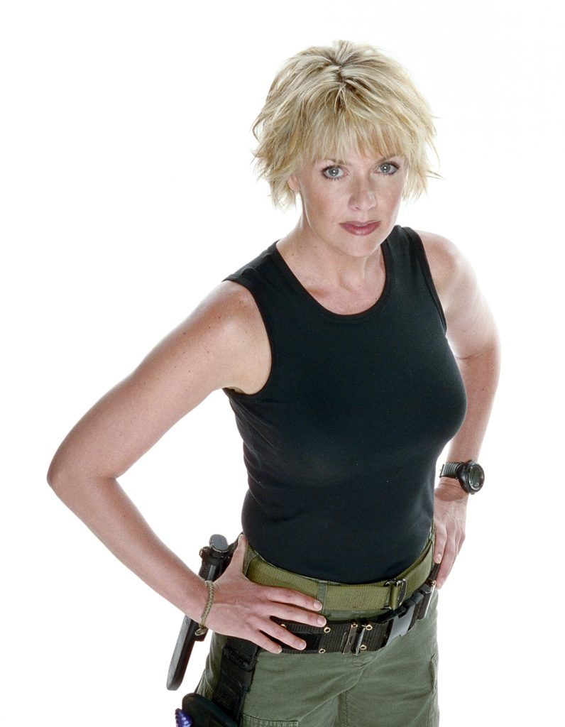 Amanda Tapping Sexy Pictures