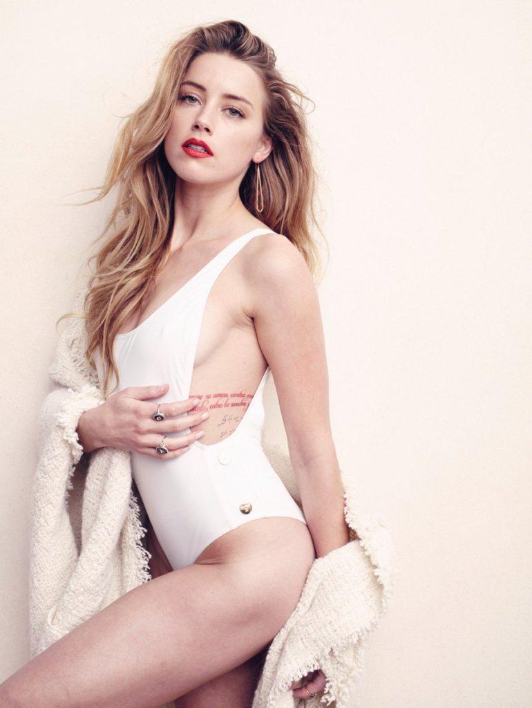 Amber Heard Bikini Wallpapers