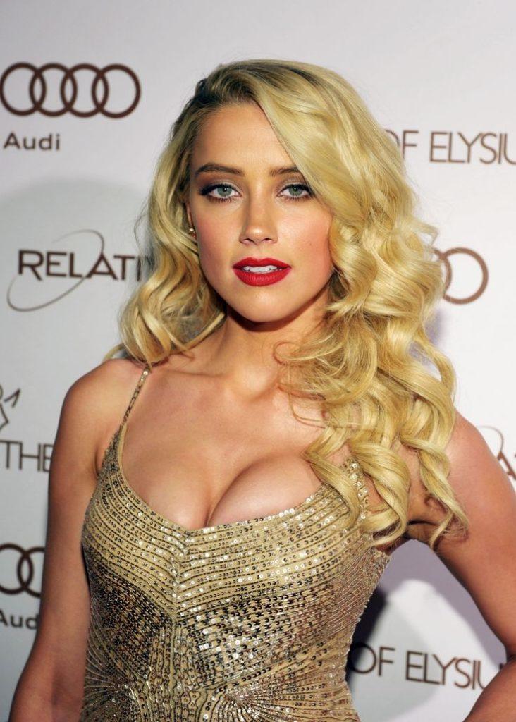 Amber Heard Boobs Photos