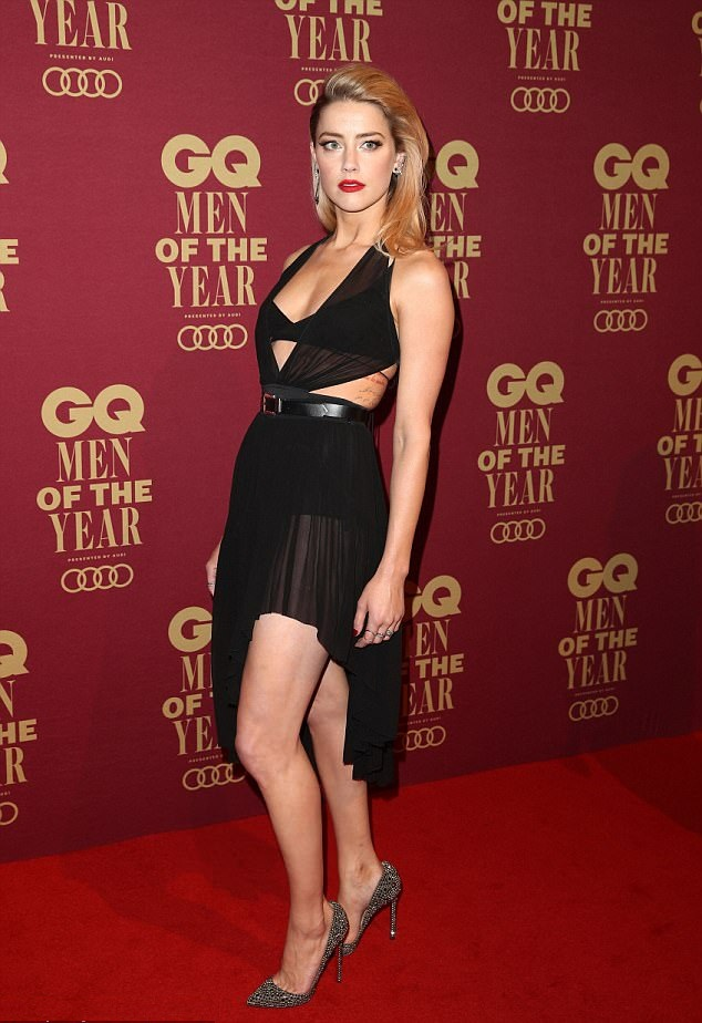 Amber Heard Thigh Pictures