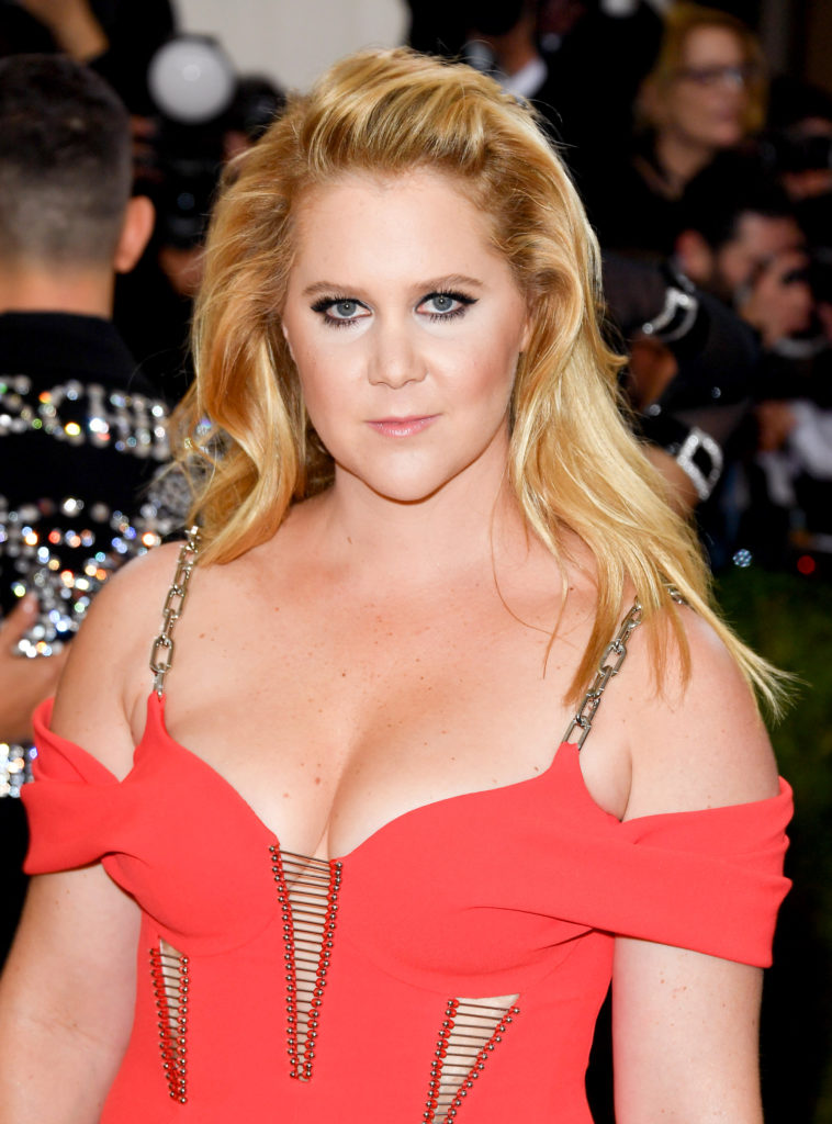 Amy Schumer Braless Pics