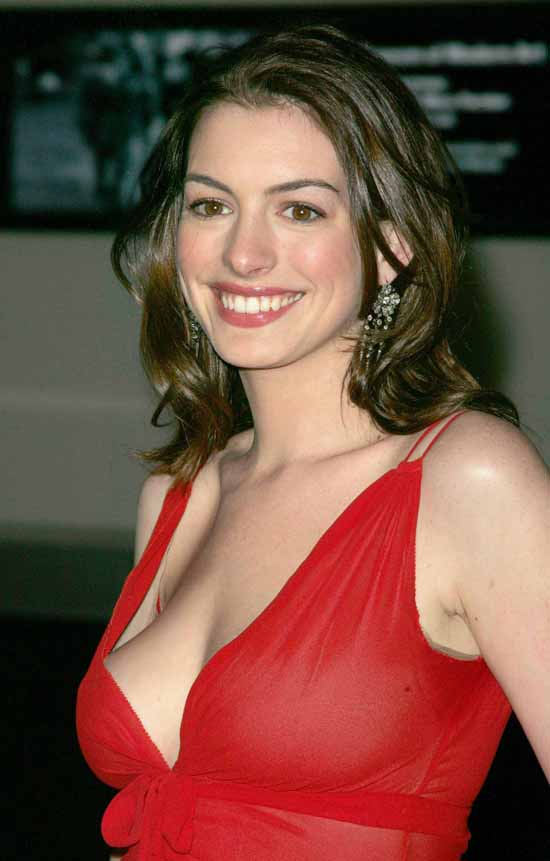 Anne Hathaway Boobs Wallpapers