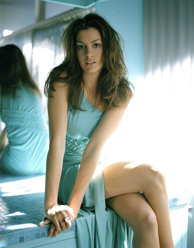Anne Hathaway Undergarments Photos