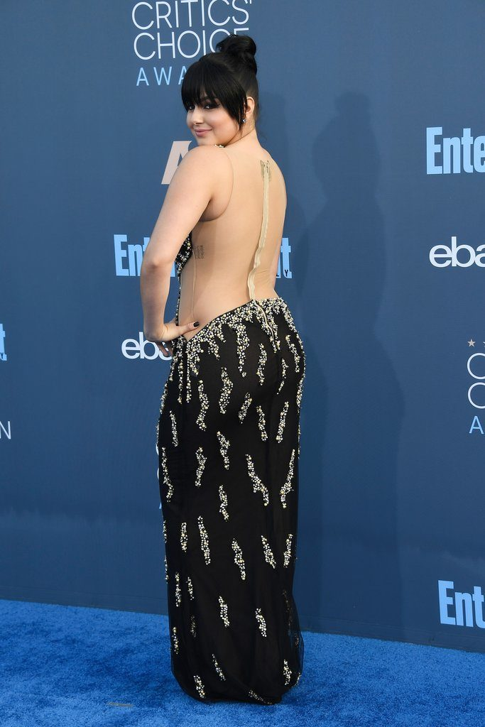 Ariel Winter Full Backless Pictures