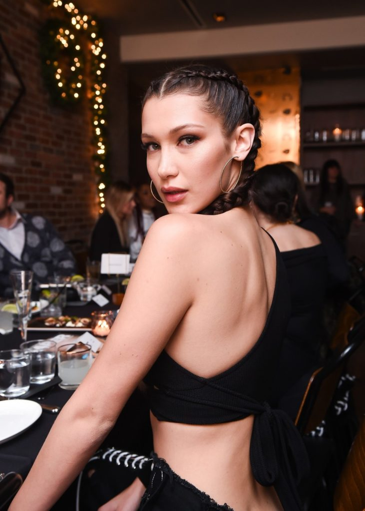 Bella Hadid Backless Images
