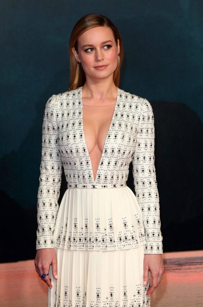 Brie Larson Braless Photos