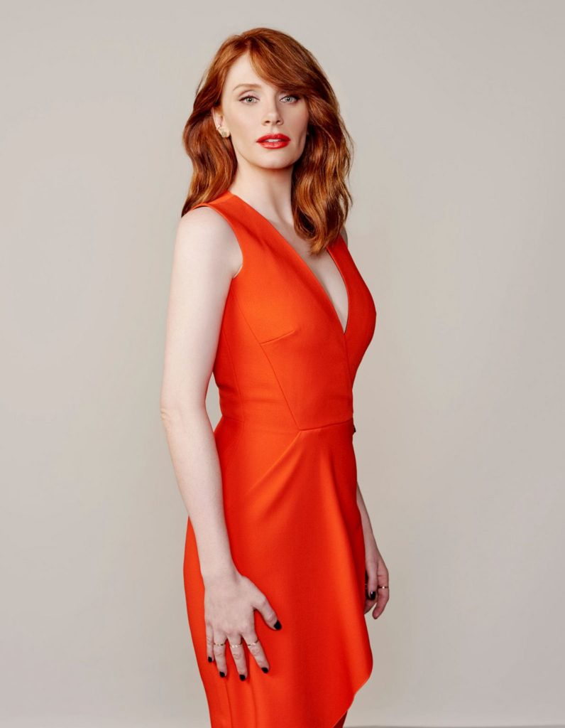 Bryce Dallas Howard Red Clothes Photos