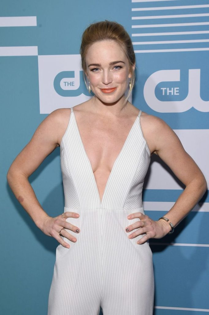 Caity Lotz Braless Photos