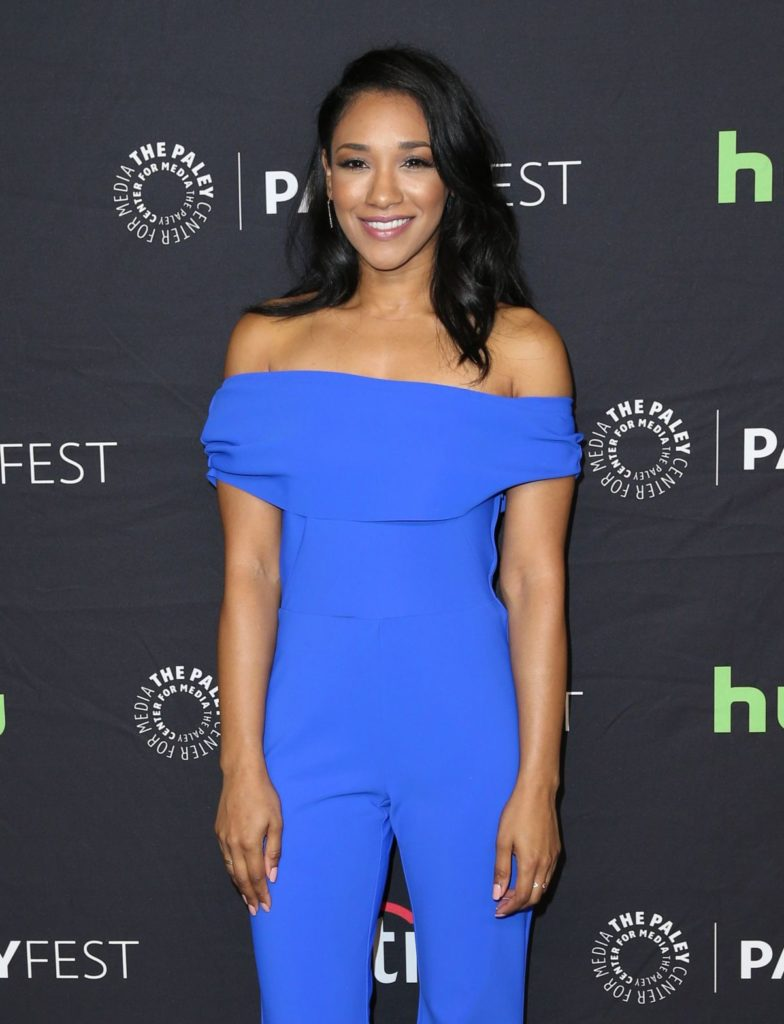 Candice Patton Blue Clothes Wallpapers