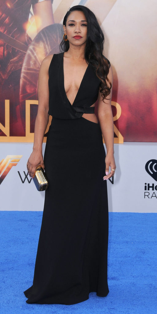 Candice Patton Gown Images