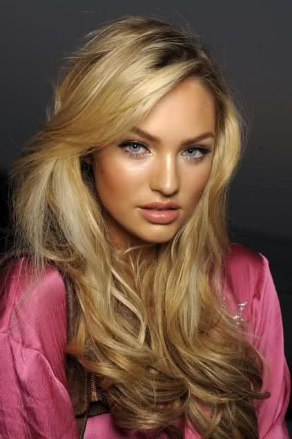 Candice Swanepoel Blonde Hair Images