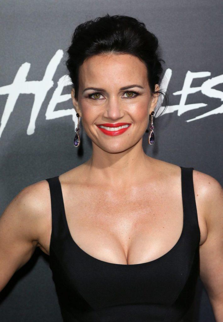 Carla Gugino Breast Pics