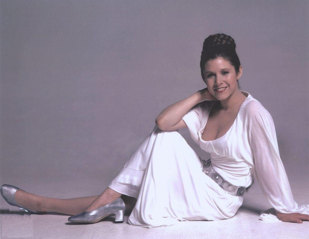 Carrie Fisher Feet Photos