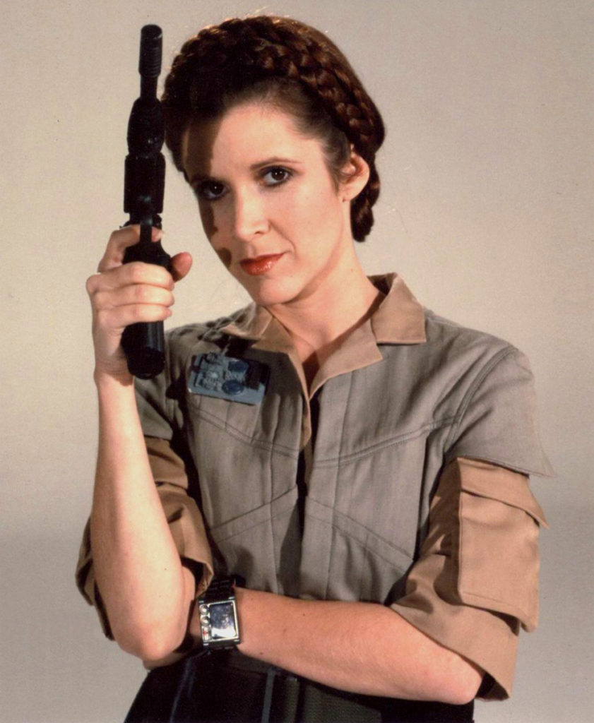 Carrie Fisher Movie Look Pics