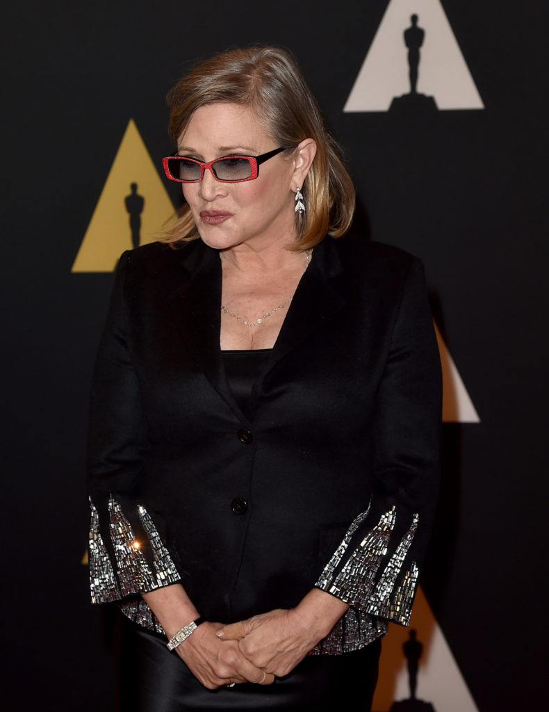 Carrie Fisher Old Age Images