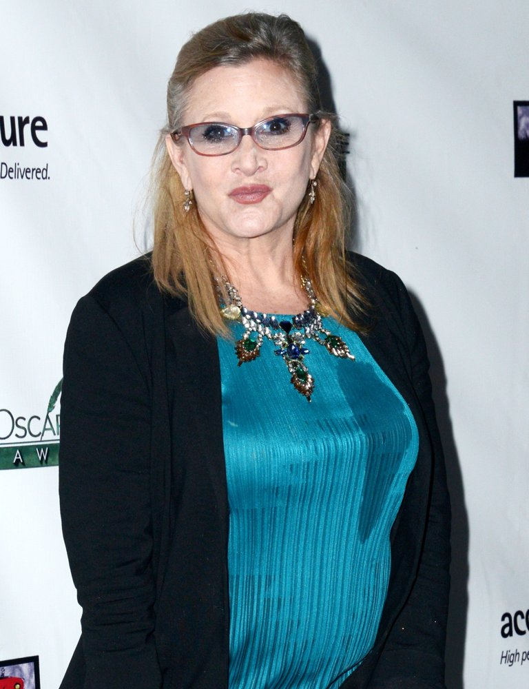 Carrie Fisher Stylish Images