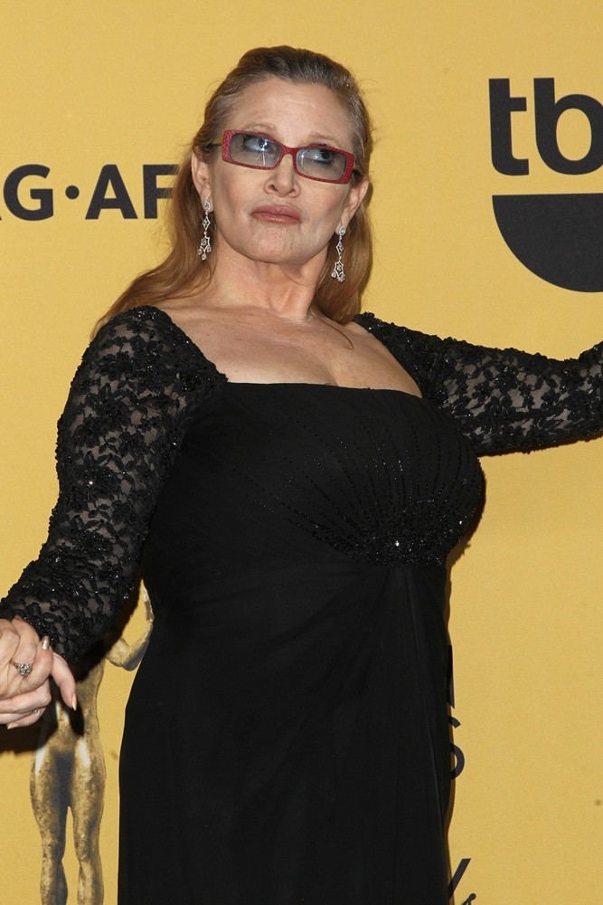 Carrie Fisher Topless Images