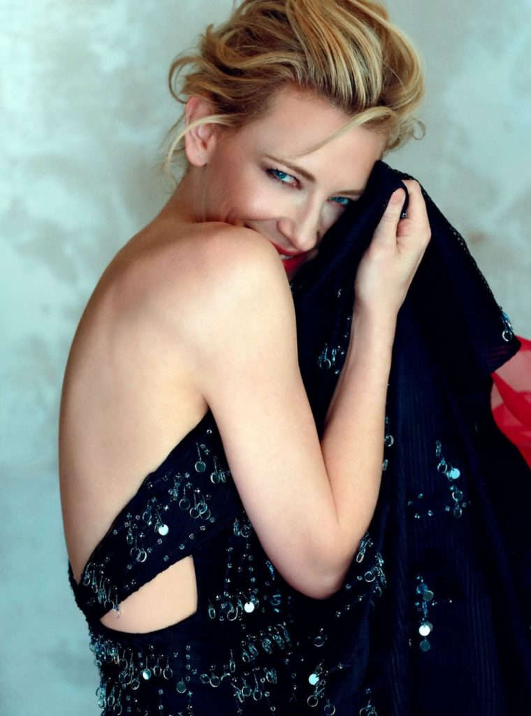 Cate Blanchett Backless Clothes Photos