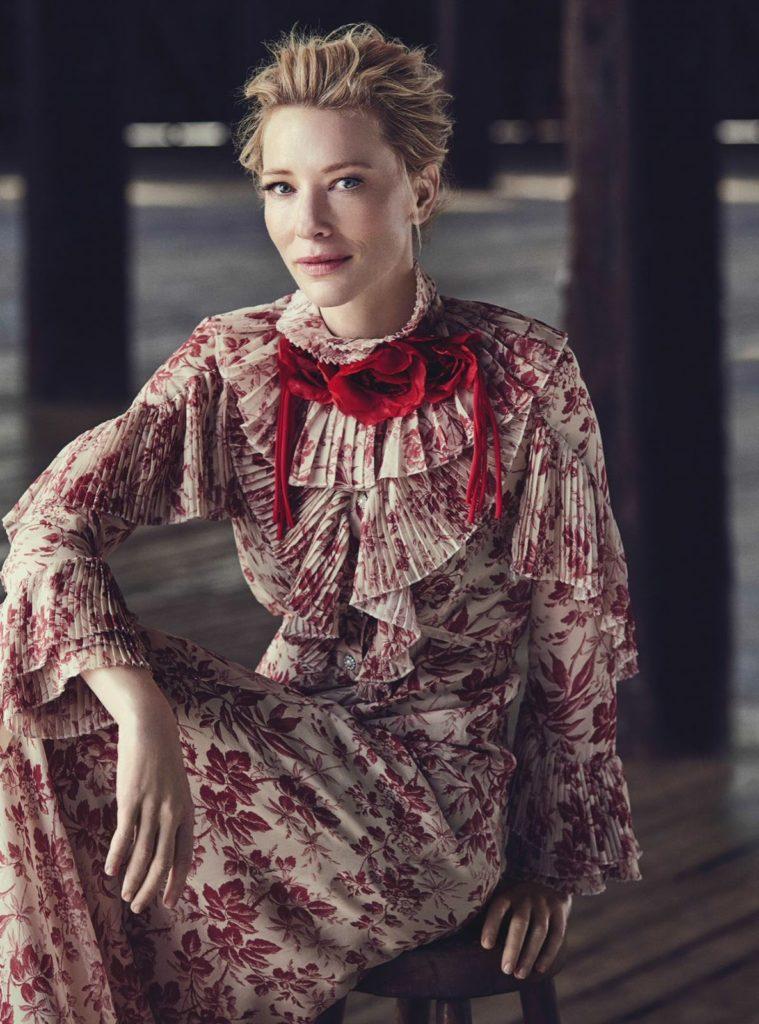 Cate Blanchett Bold Photoshoots