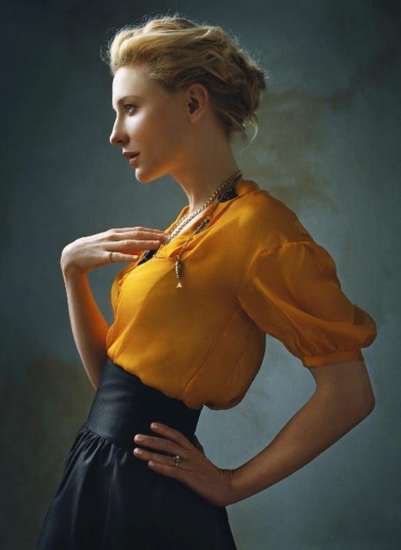 Cate Blanchett New Hair Style Pics