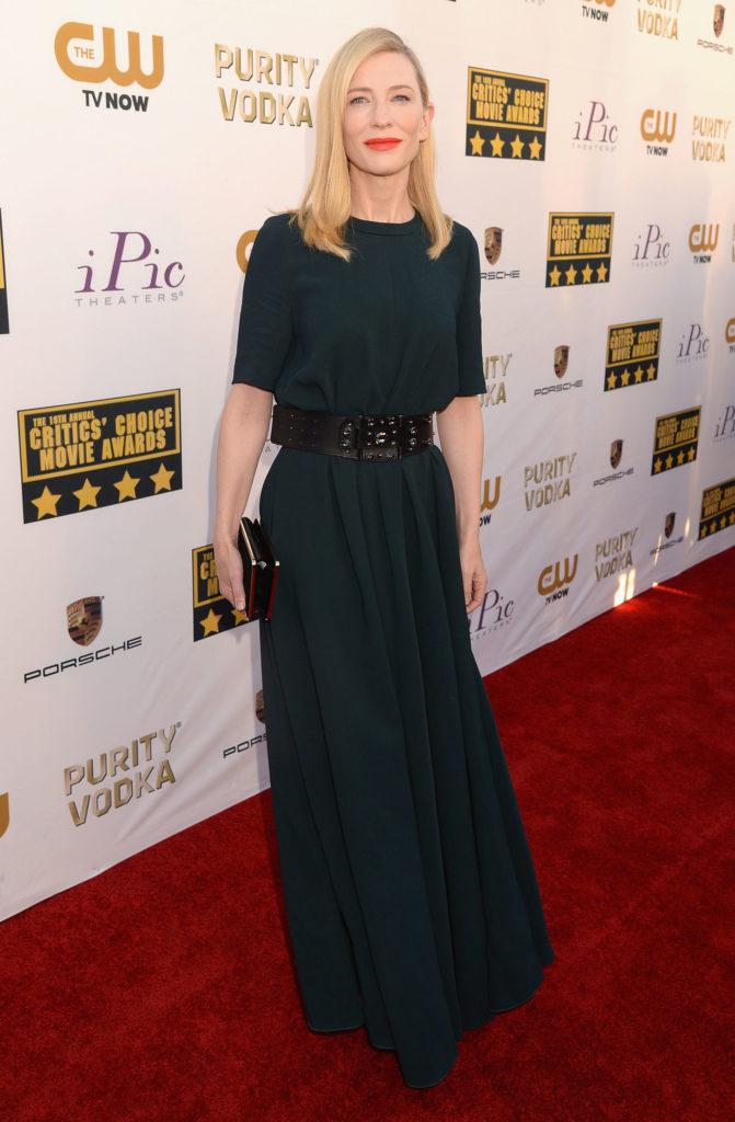 Cate Blanchett Redcarpet Photos