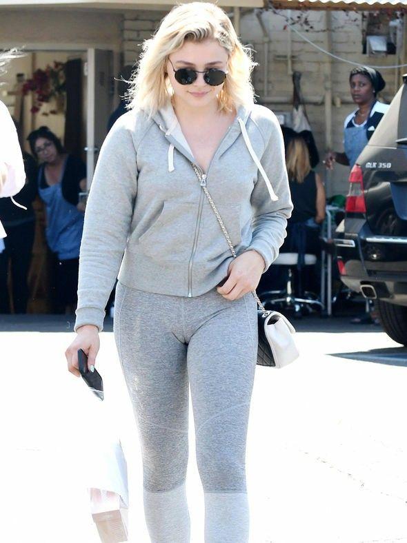 Chloë Grace Moretz Gym Clothes Images