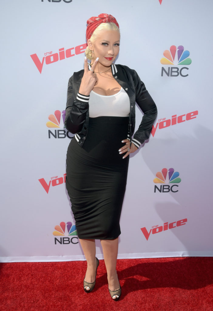 Christina Aguilera Event Images Gallery