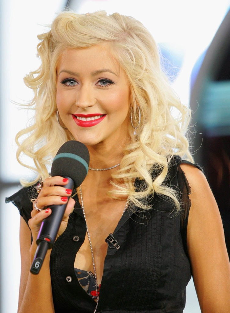 Christina Aguilera Muscles Images