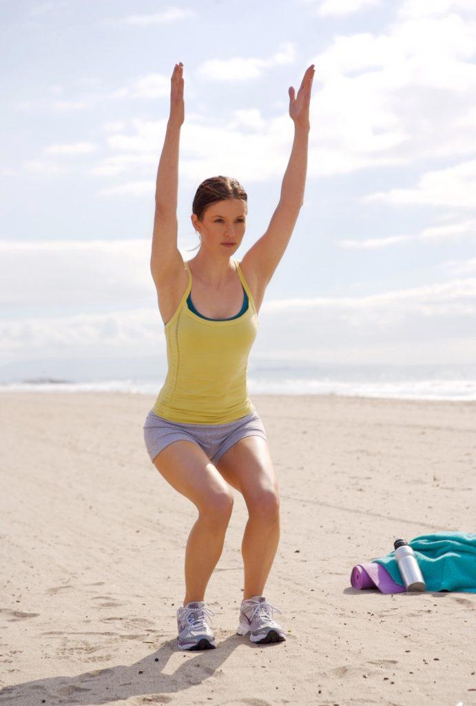 Chyler Leigh Yoga Pants Pics