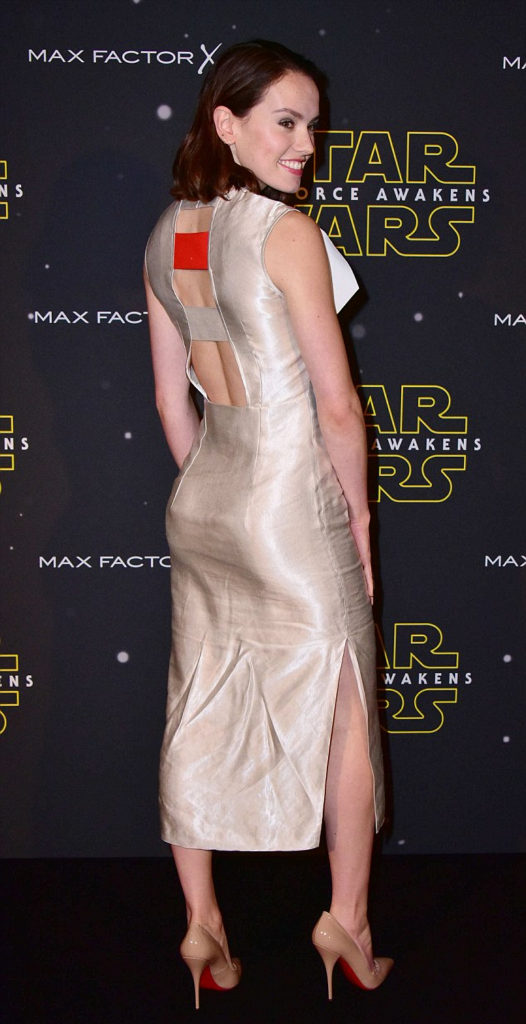 Daisy Ridley Backless Images