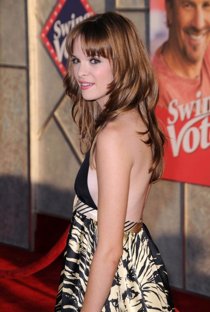 Danielle Panabaker Backless Images