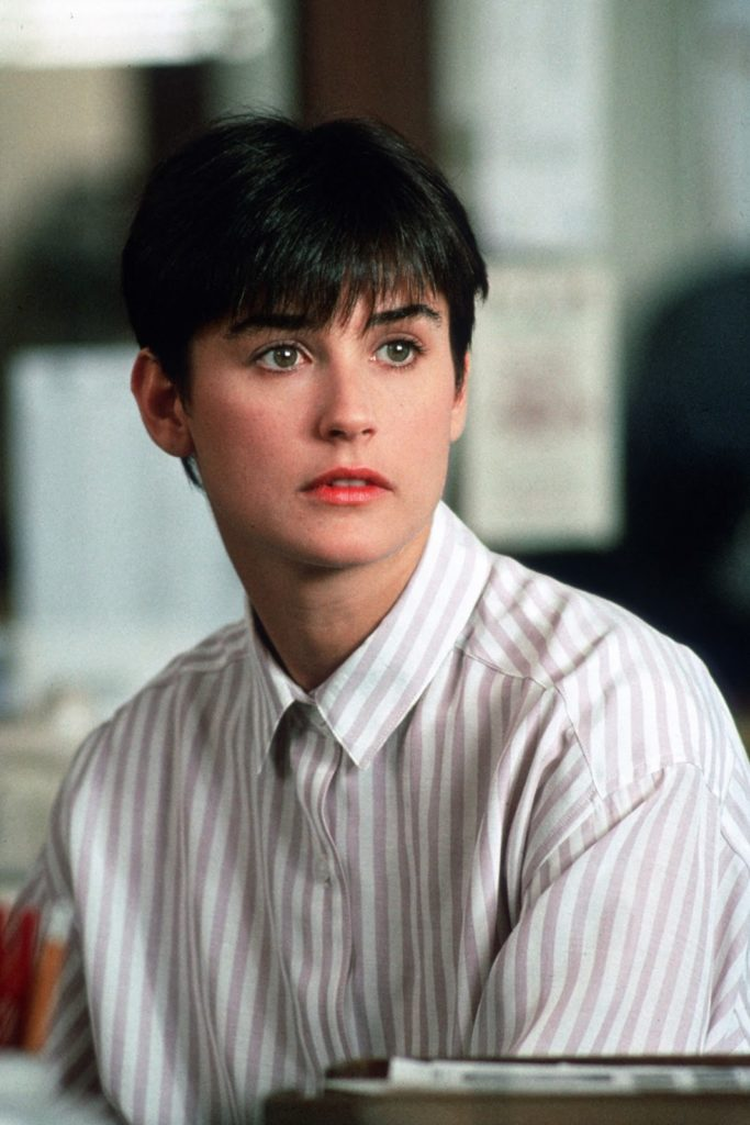 Demi Moore Short Hair Images