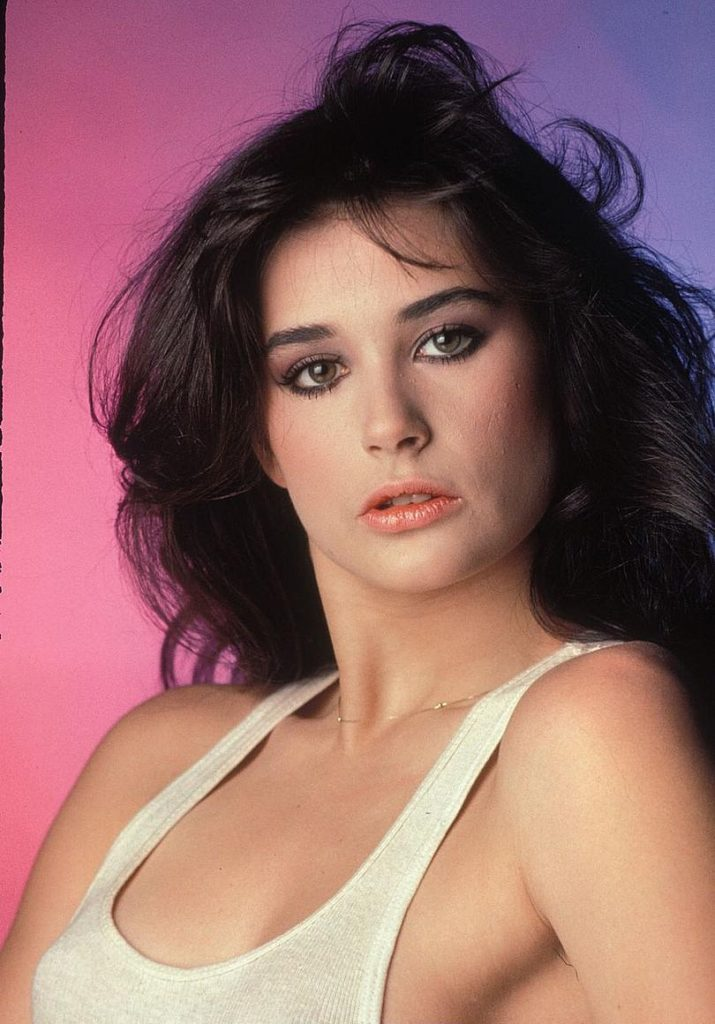 Demi Moore Topless Images