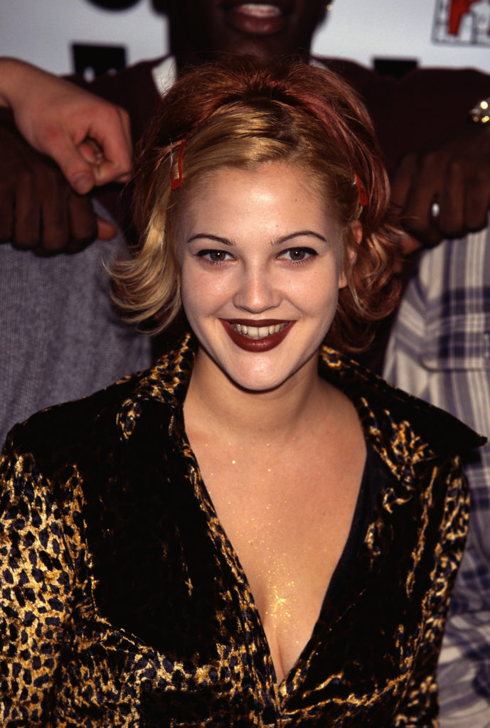 Drew Barrymore Braless Pics
