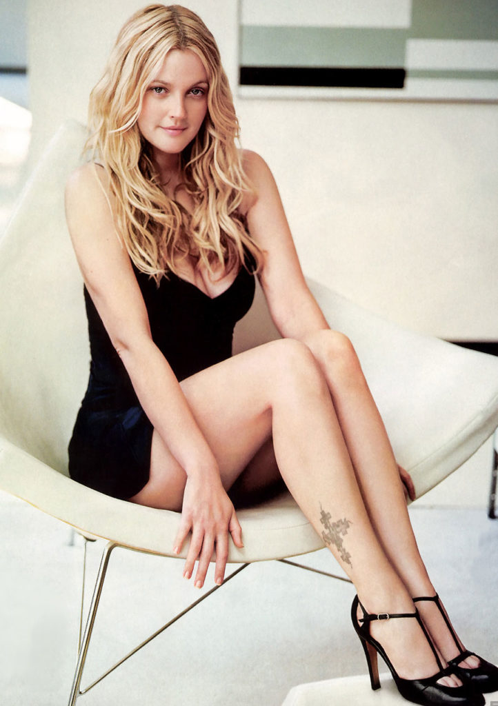 Drew Barrymore Feet Photos