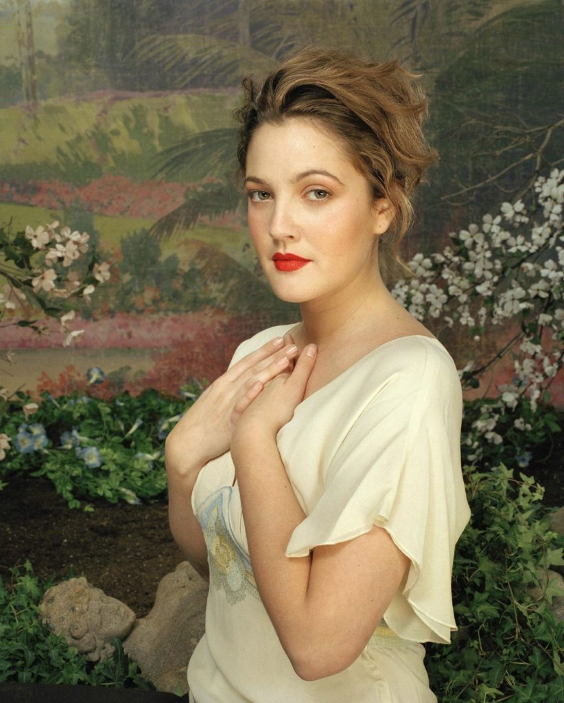 Drew Barrymore Hair Style Photos