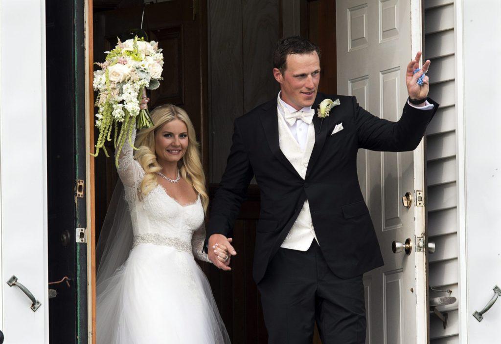 Elisha Cuthbert Marriage Pics