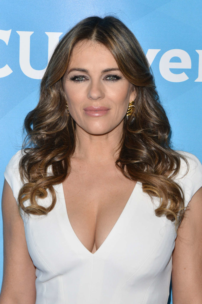 Elizabeth Hurley Braless Pictures