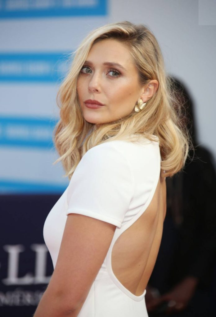 Elizabeth Olsen Backless Images