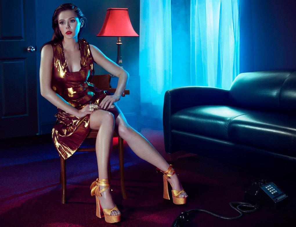 Elizabeth Olsen Feet Images