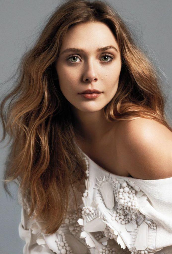 Elizabeth Olsen Sexy Eyes Pics