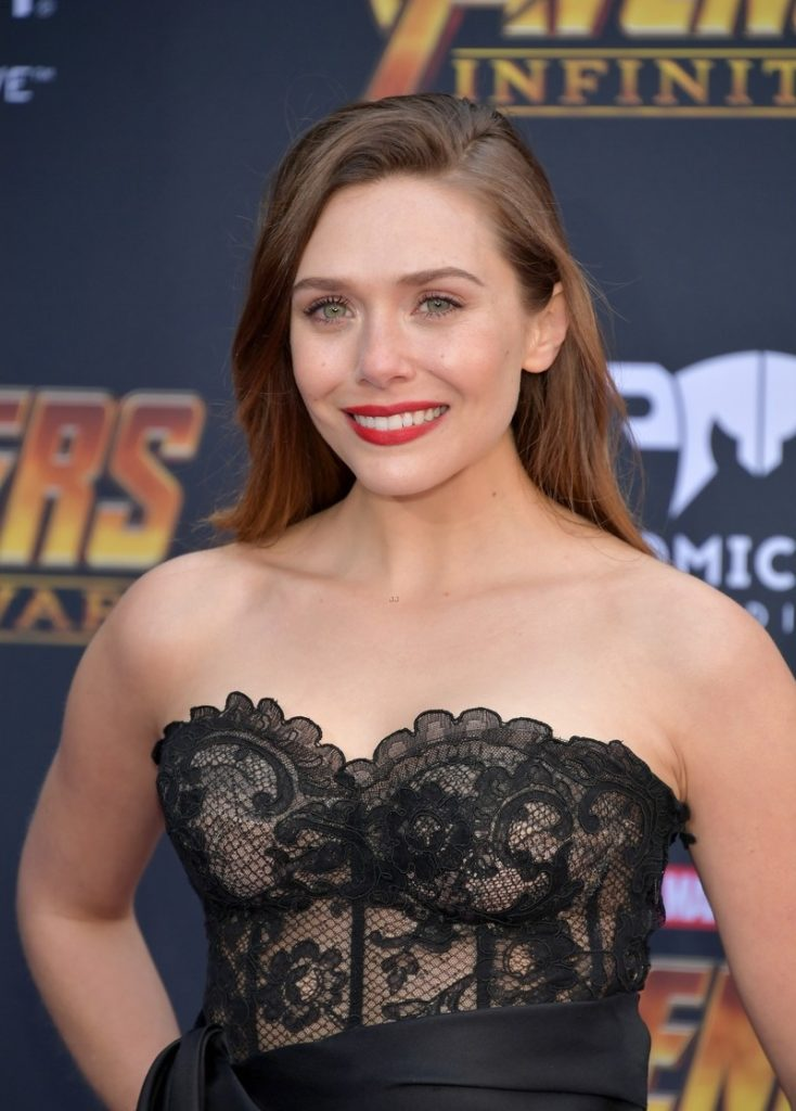Elizabeth Olsen Smile Face Pics